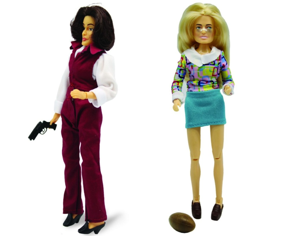 retro action figures sabrina and marcia