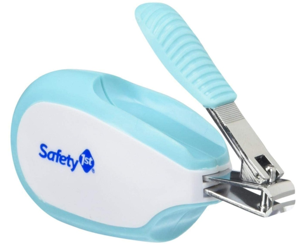 blue safety 1st baby clippers