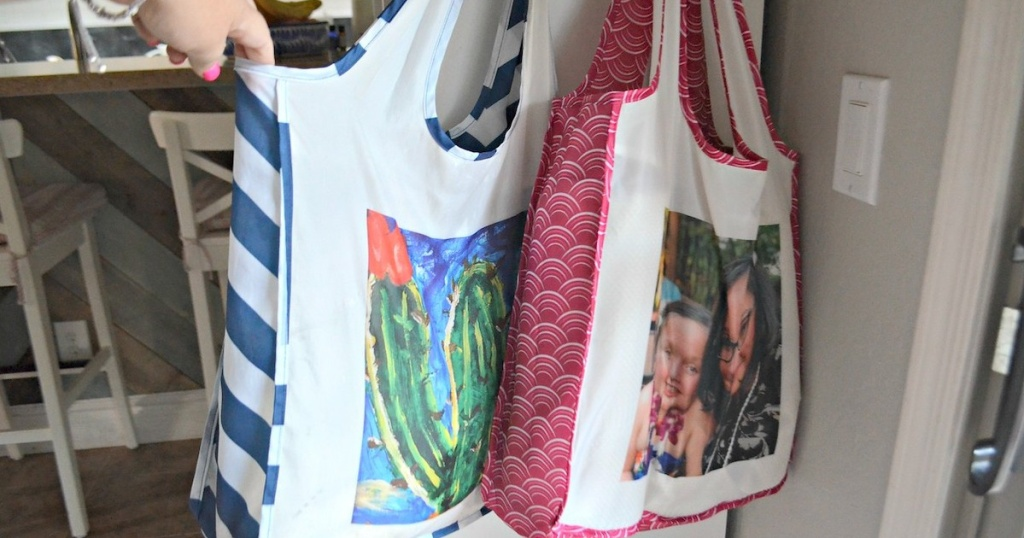 shutterfly totes hanging