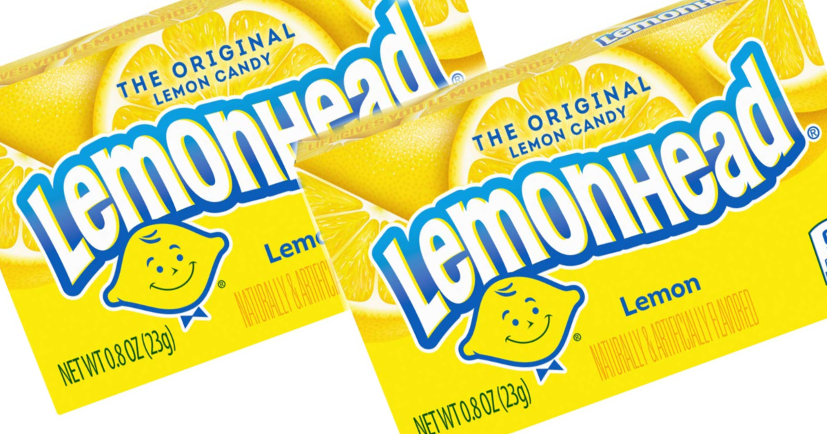 stock images of lemondhead candy boxes