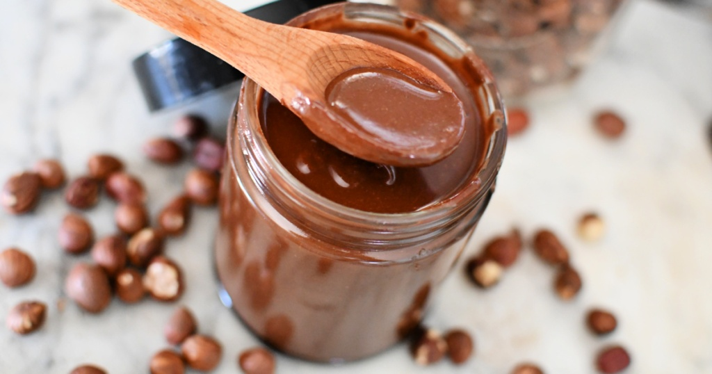 spoonful of diy nutella