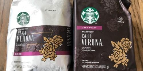 Starbucks Ground Coffee 28oz Bag Just $9.79 on Amazon