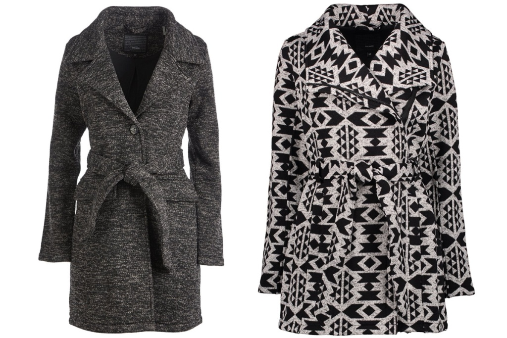 steve madden jackets grey and geo pattern
