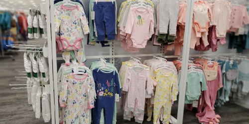 Up to 55% Off Carter's Baby Apparel at Target | Bodysuits from $1.69 Each