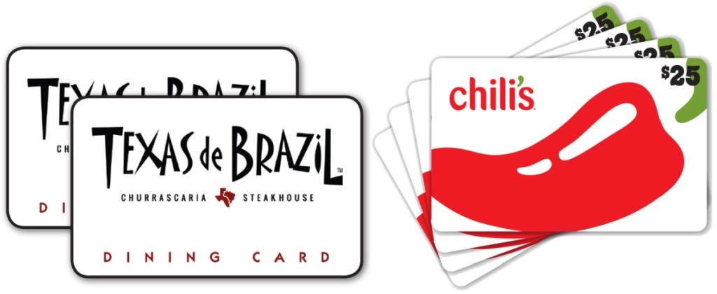 texas de brazil and chilis gift cards