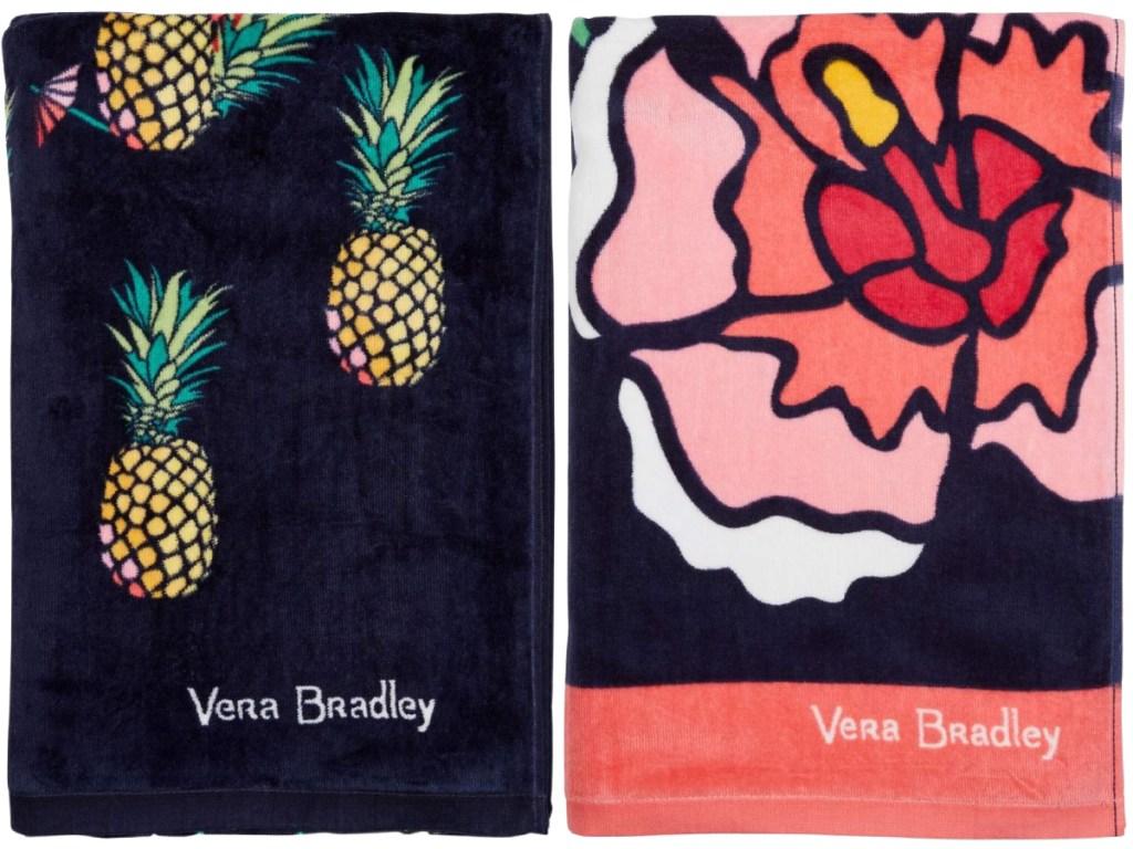 vera bradley beach towels