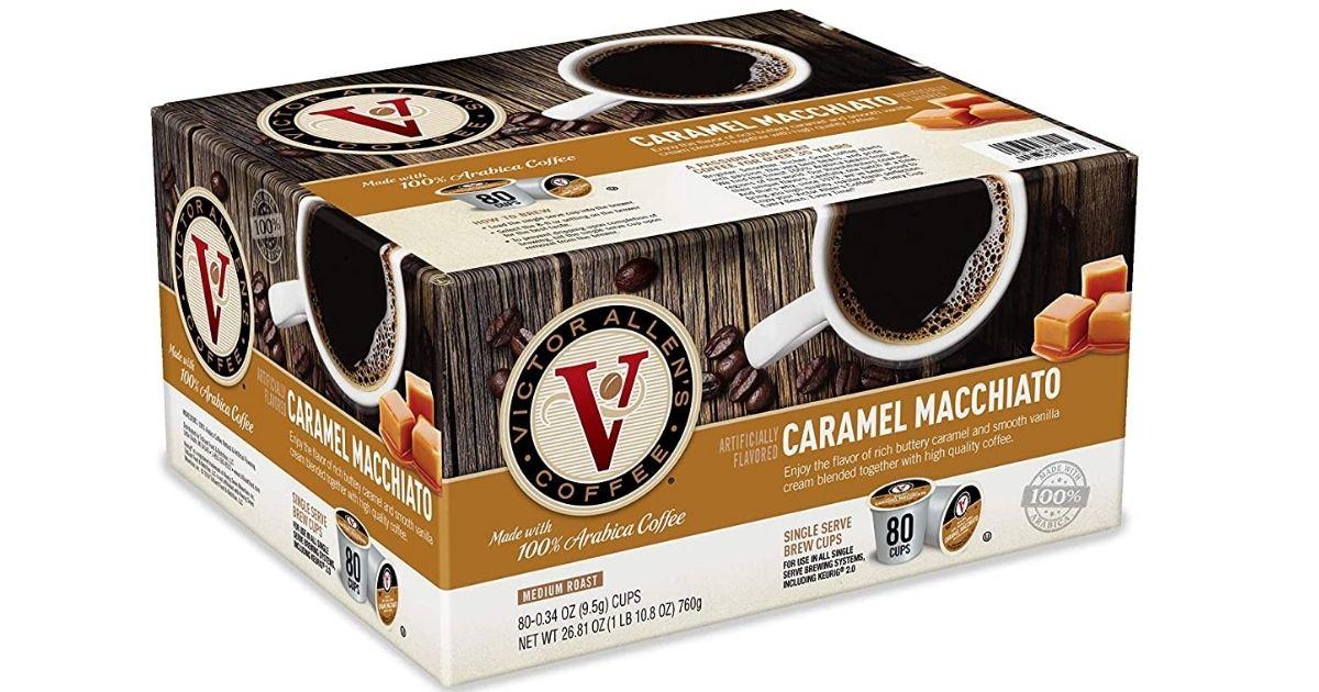 Victor Allen's Caramel Macchiato 80-count box