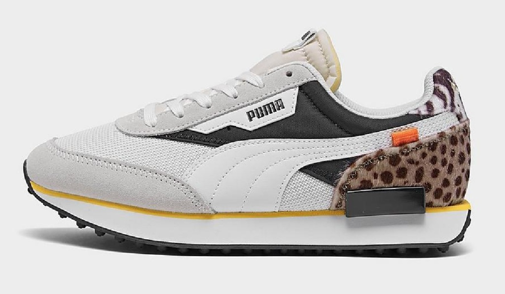 womens puma animal print shoe
