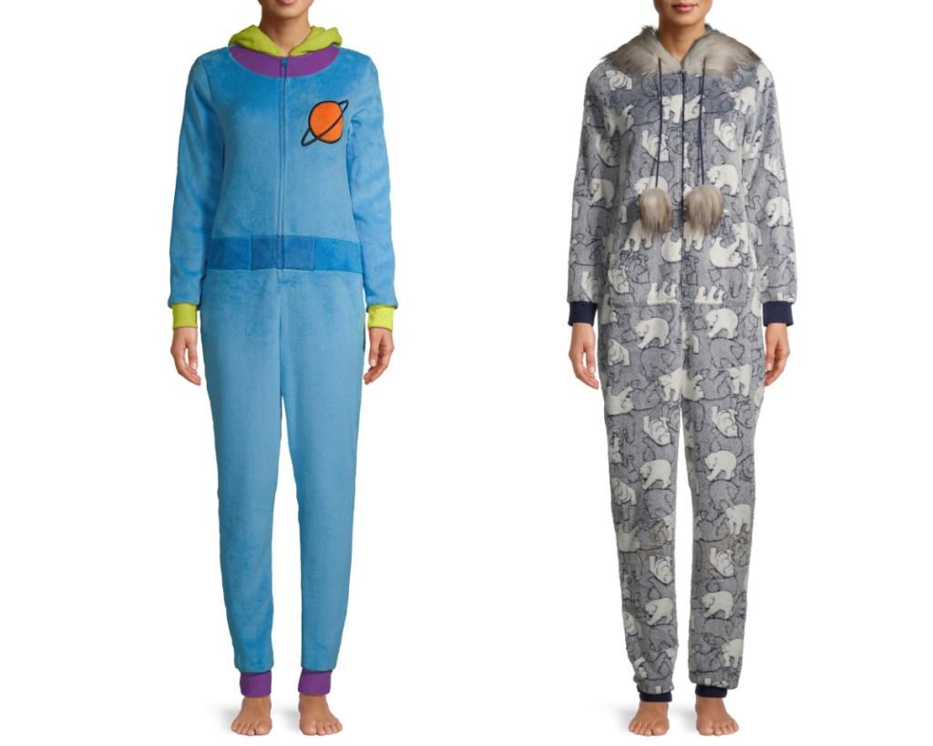 womens union suits incuding disney alien suit