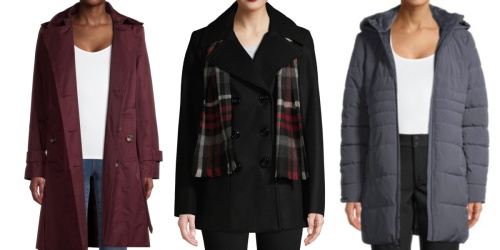 Women's Coats from $16 on Walmart.com (Regularly $40+)