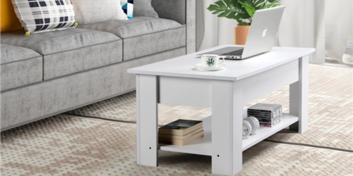 Lift-Top Coffee Table w/ Hidden Compartment Only $87.50 Shipped on Walmart.com (Regularly $125)