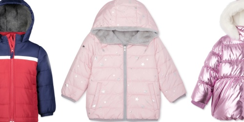 Puffer Jackets for the Family from $10 on Walmart.com (Regularly $20)