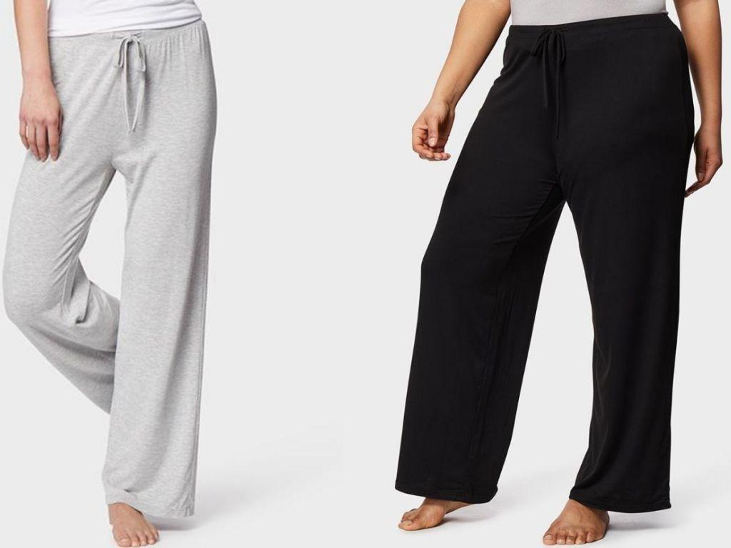 2 womenwearing 32 Degrees Women's Sleep Pants