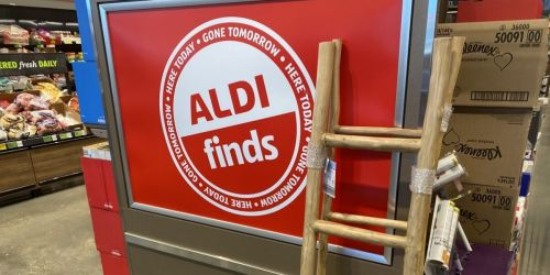 Wood Blanket Ladder Just $39.99 at ALDI + More Affordable Storage Solutions