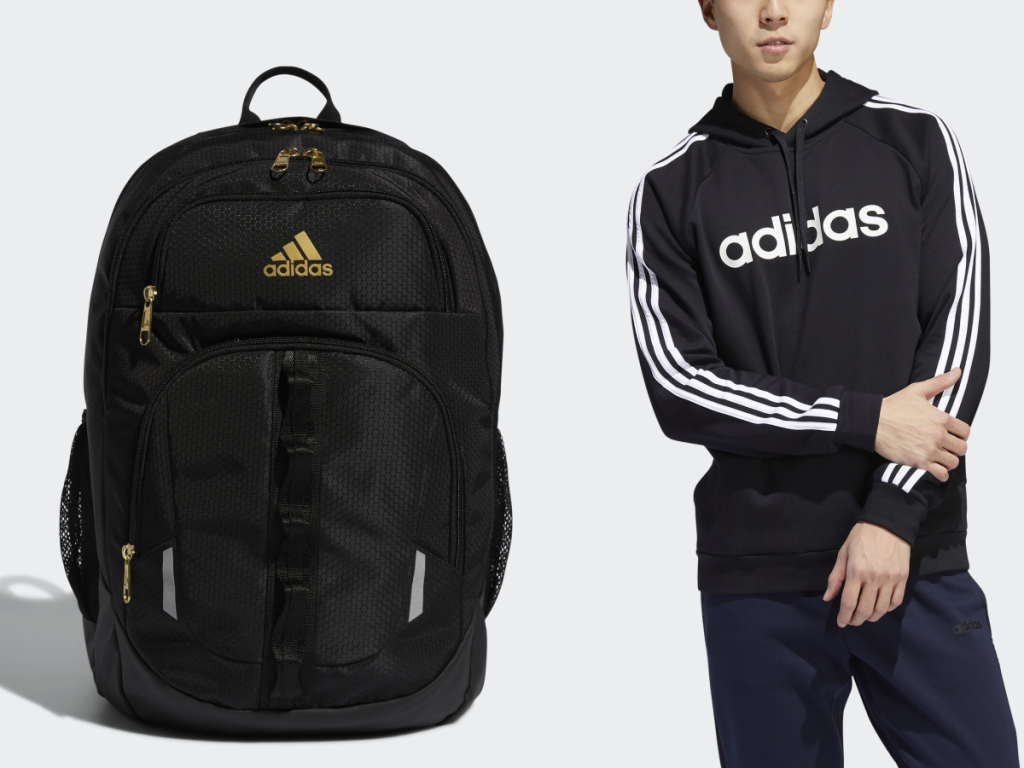 Adidas Men's Jacket and Backpack