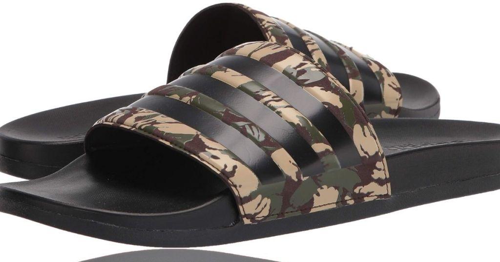 Adidas Mens camo Slides