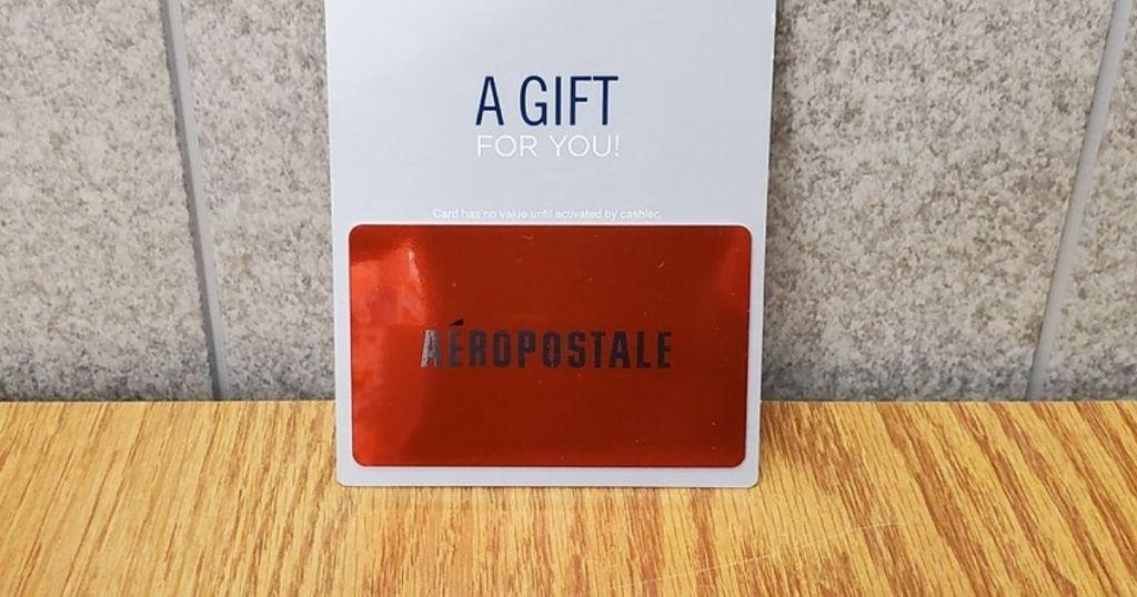 $50 Aeropostale Egift Paper Lone $45 Delivered On Bestbuy.com