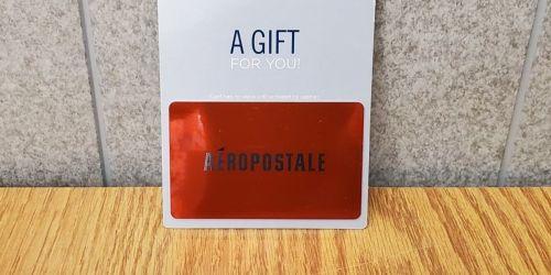$50 Aeropostale eGift Card Only $40 Delivered