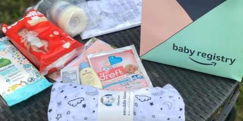 Expecting? Score a FREE Amazon Baby Welcome Box w/ $35 Worth of Freebies!