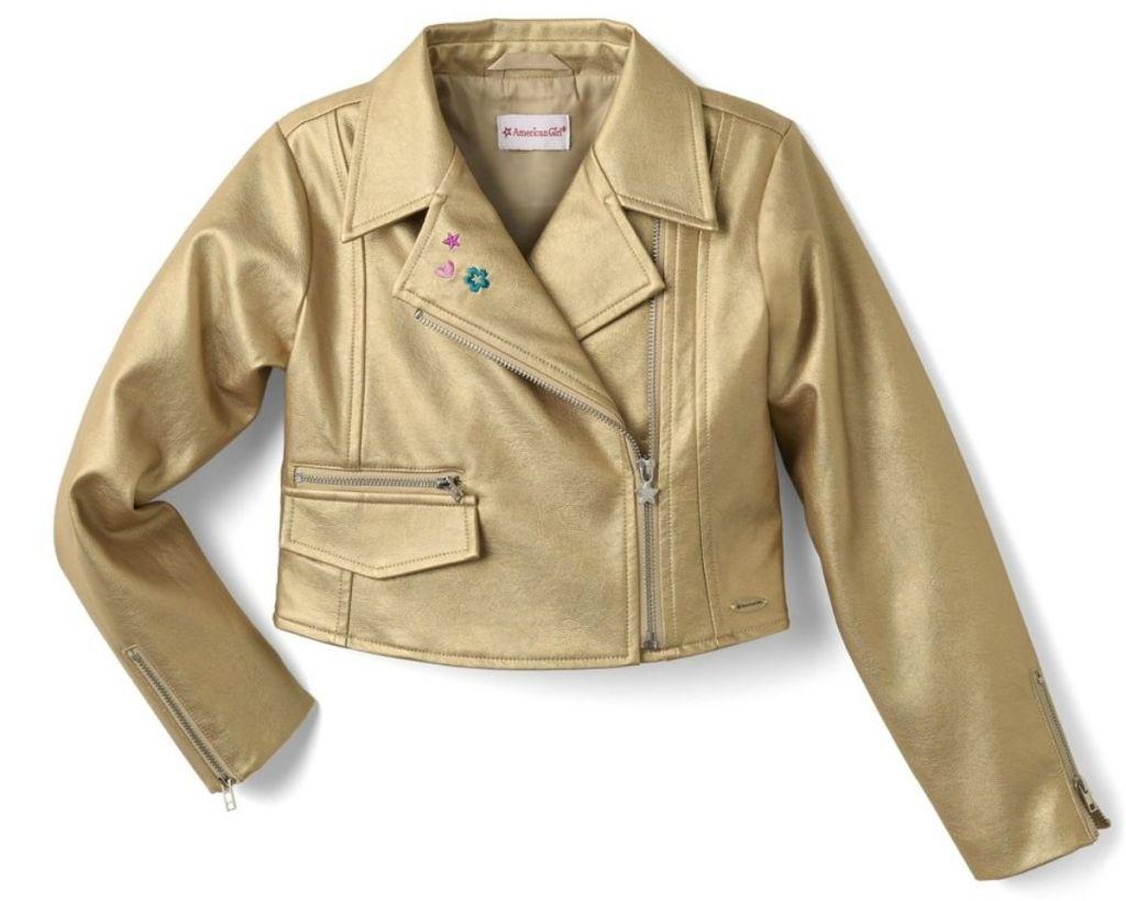 American Girl Girls Moto Jacket
