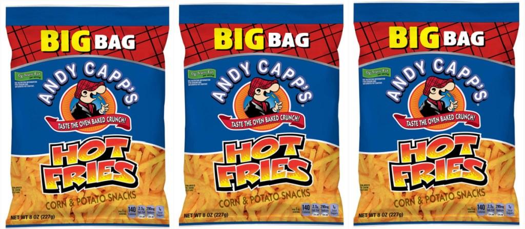 Andy Capp Hot Fries Snacks