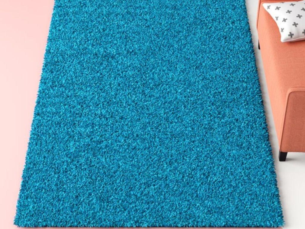 Angeline Turquoise Area Rug