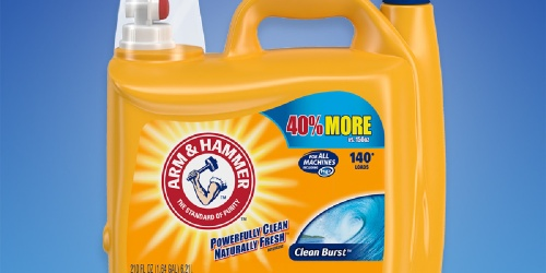 Arm & Hammer Laundry Detergent 210oz Only $8.74 on Amazon