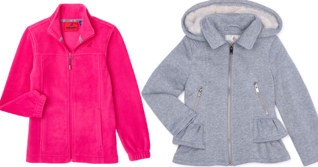 Atlantis and Urban Republic Girls Jackets from Walmart