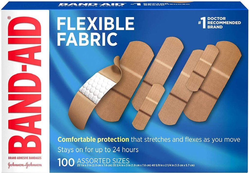 box of 100 adhesive bandages