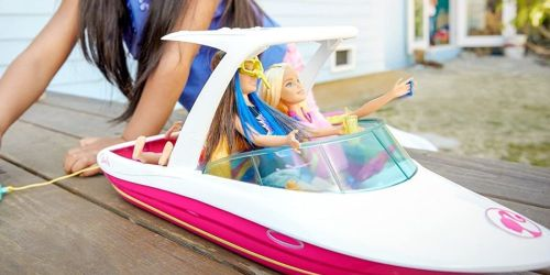 Barbie Dolphin Magic Ocean View Boat Only $17.99 (Regularly $30)