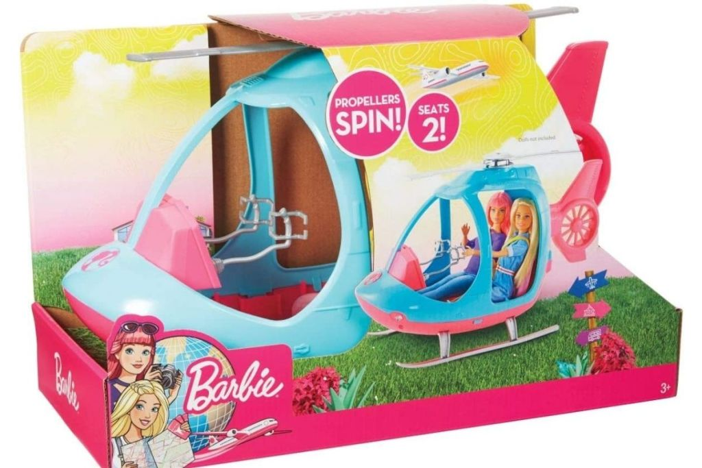 Barbie Helicopter in packaging