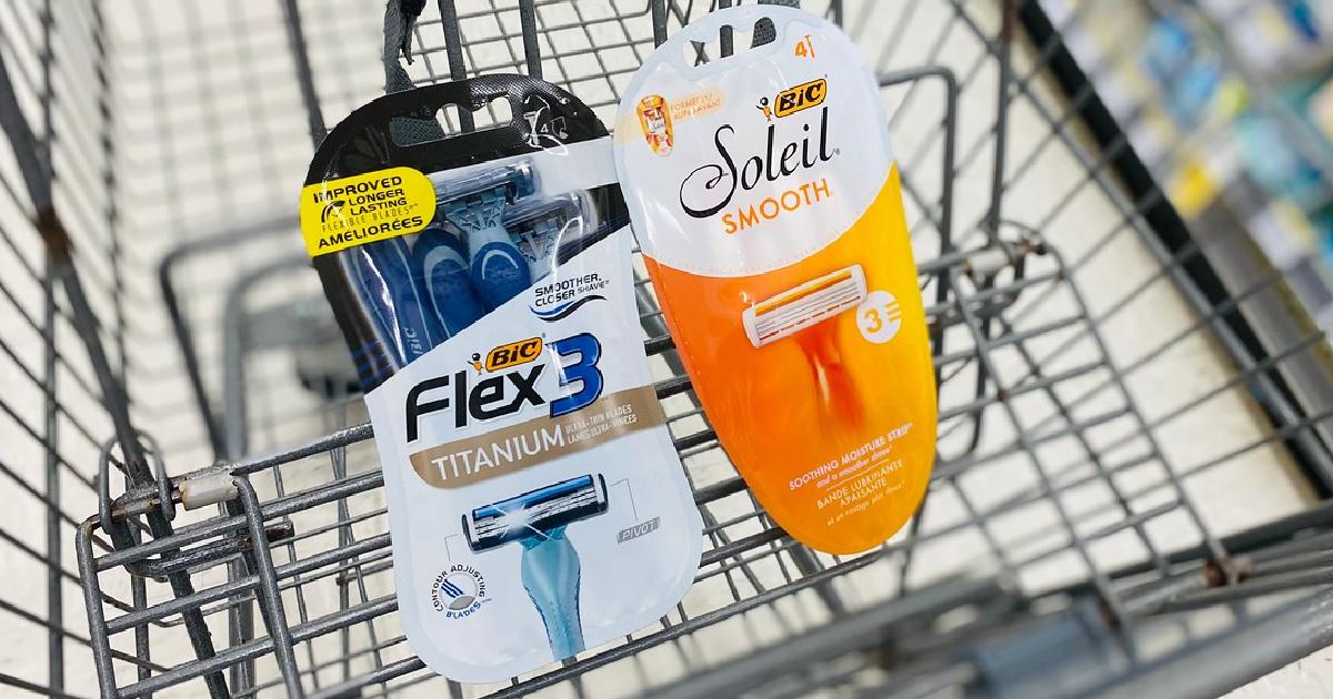 Bic Razors in Walgreens Cart