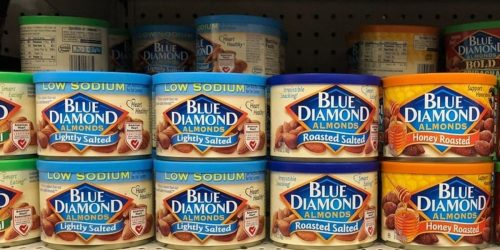 Blue Diamond Almonds Cans 6-Pack Only $10 Shipped on Amazon | Only $1.47 Each