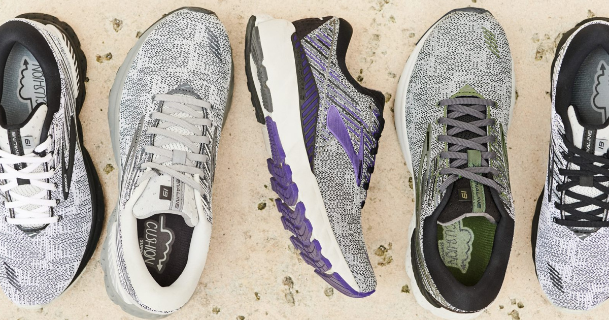 Brooks running shoes in several styles