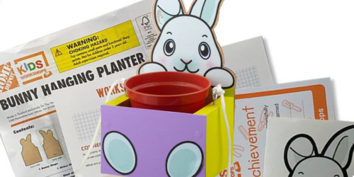 FREE Kids DIY Bunny Planter Kit at Home Depot