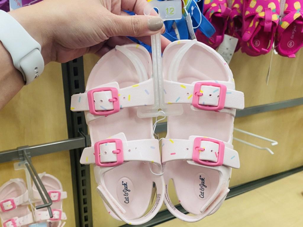 Cat & Jack brand water sandals