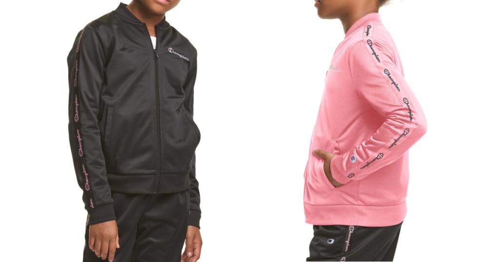 Champion Girls Track Jacket