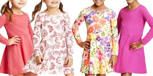 The Children's Place Girls Dresses 2-Packs from $6.79 Shipped (Regularly $34)