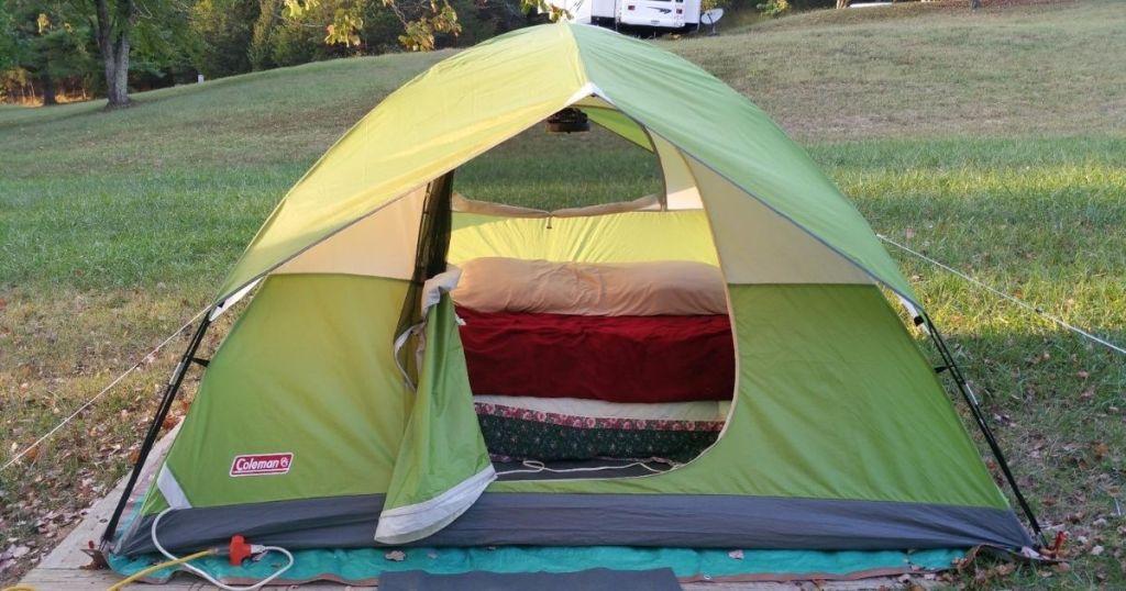Coleman 4 person tent