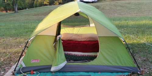 Coleman Camping Bundle Only $99.99 Shipped on Costco.com (Regularly $130) | Includes 4-Person Tent & 2 Sleeping Bags