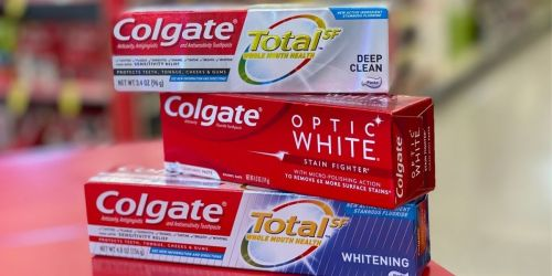 2 FREE Colgate Toothpastes After Walgreens Rewards