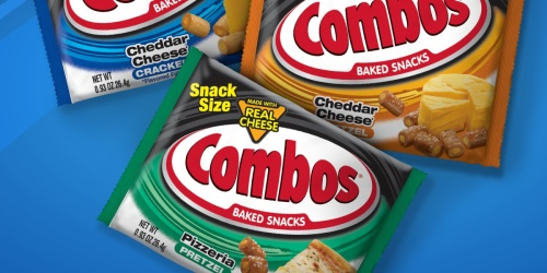 Combos Baked Snack Size 12-Count Variety Pack Only $3.36 Shipped on Amazon   Just 28¢ Per Bag