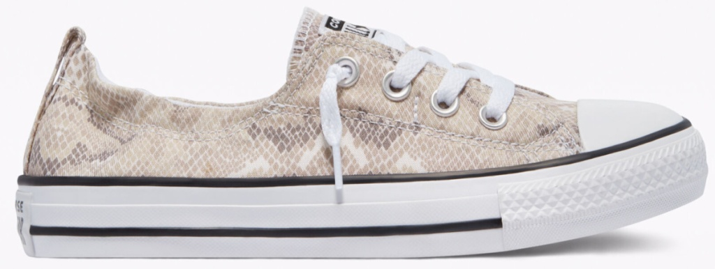 converse snakeskin shoes
