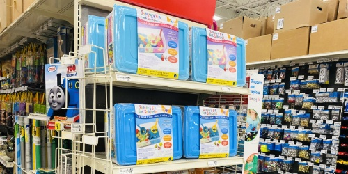 Pre-Made Sensory Bins Only $15.99 at Michaels (Perfect Rainy Day Activity!)