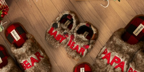 Dearfoams Baby Bear Slippers Only $4.67 Shipped for Select Kohl's Cardholders (Regularly $22)