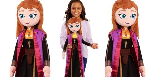 Disney Frozen 2 Anna 34″ Doll Only $17.80 on Amazon (Regularly $30) | Sings & Lights Up