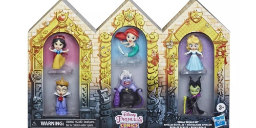 Disney Princess Comic Royal Rivals Figures Set Only $9.99 on Target.com (Regularly $20)