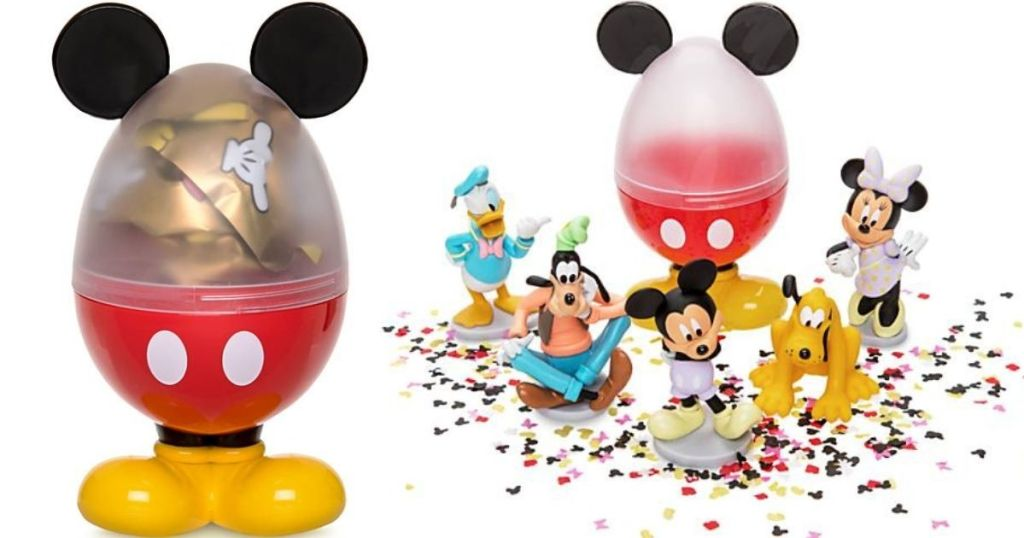 Disney Surprise Egg and figures
