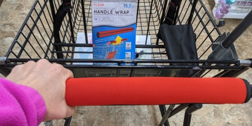 Shopping Cart Handle Wraps Just $1 at Dollar Tree | Includes Travel Case