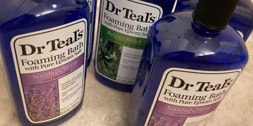 Dr Teal's Foaming Lavender Bath w/ Epsom Salt Only $3.22 Shipped on Amazon